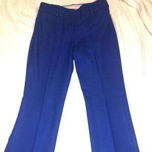 Loft Blue Dress pants size 8